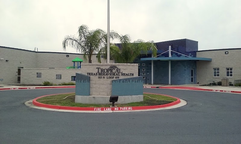 Tropical Texas Behavioral Health building at Harlingen